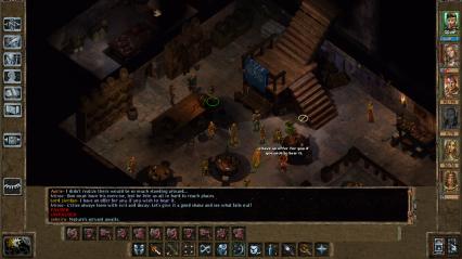 Baldur's Gate UI Mockup